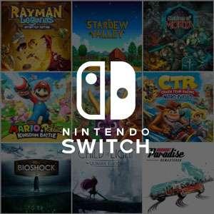 Recopilación juegos AAA e INDIES para Nintendo Switch