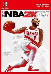 NBA 2K21 Nintendo Switch Físico Corte Inglés
