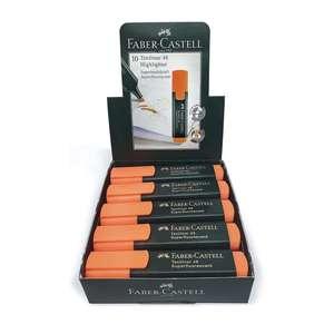 Pack 10 fluorescentes Naranja Faber Castell