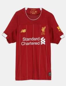 Camiseta Liverpool niños. Tallas desde 6 a 13 años