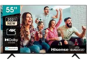 "TV LED 139,7 cm (55"") Hisense 55A6G por 499€"