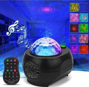 Proyector Estrellas, Lámpara Nocturna con Altavoz