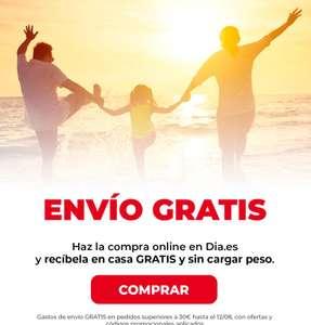 Envío gratis Supermercado DIA (compra mín. €30)