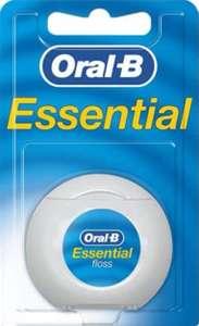 Oral-B Seda dental Essentialfloss sin cera, 50m