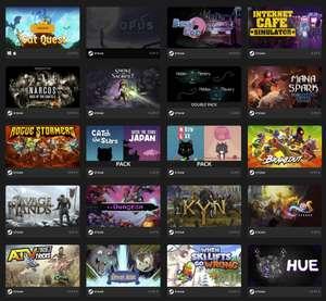 Bumper Bundle, Omega Bundle desde 1€, Grey Alien Games Bundle desde 0,99€, Summer Mystery Bundle