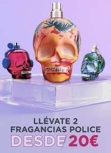 Fragancia Police 2x20€