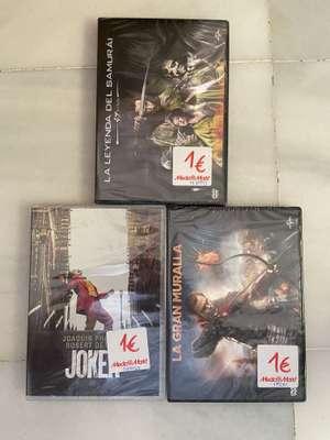 DVD's a 1€ en Mediamarkt Granada