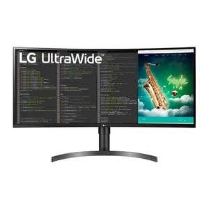 "Monitor - LG 35WN65C-B UltraWide, 35"" VA WQHD, 5 ms, 100 Hz, Formato 21:9, HDMI, Negro"