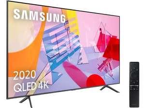 """Samsung QLED 4K 2020 85Q60T de 85"""" - Smart TV, 4K UHD, IA, Asistente de voz Integrado,Sonido Inteligente"""