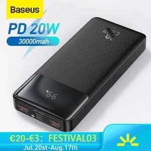 Baseus Powerbank 20.000/30.000 mAh (Desde España)