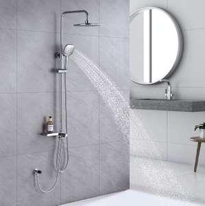 Columna de ducha sin grifo
