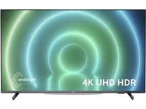 "Smart TV de 55"" Philips 55PUS7906/12, UHD 4K Ambilight, HDR por 599 € ||| Philips 55PUS7406/12, UHD 4K por 559 €"
