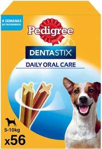 Descuentos en los packs Dentastix de 56 y 4*28 (112) y 112 al tramitar y/o con compra recurrente [Precio mostrado pack 56 perro pequeño]