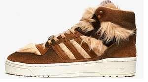 TALLAS 40.7 a 43.3 - Zapas Adidas Rivalry Hi Star x Star Wars 'Chewbacca'