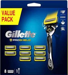 Gillette ProShield Maquinilla de afeitar hombre tecnología FlexBall + 9 cuchillas