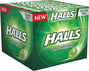 Halls Menta Suave / Caja con 20 Sticks_