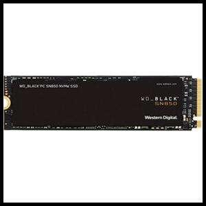 SSD WESTERN DIGITAL SN850 M.2 500GB PCI EXPRESS 4.0 NVME
