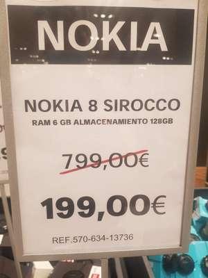 Nokia 8 Sirocco El Corte Inglés en Gran Casa.