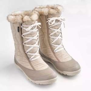 Botas de nieve cálidas e impermeables mujer tallas del 36 al 38.