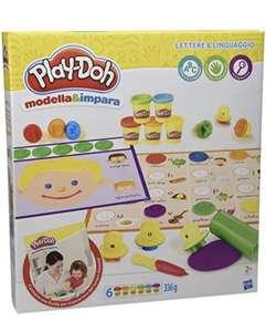 Hasbro Play-Doh- Modela y aprende Letras y Idiomas