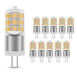 Lámparas halógenas, G4, 10 Unidades