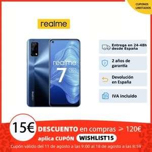 Realme 7 5G 8GB + 128GB Azul