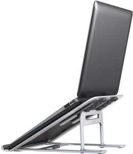 Soporte portátil 5 alturas aluminio solo 4.5€