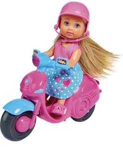 Simba- Evi Love Muñeca con Scooter (recogida en tienda)
