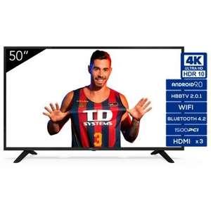 """TV LED 127 cm (50"""") TD Systems K50DLJ11US, 4K UHD, Smart TV"""