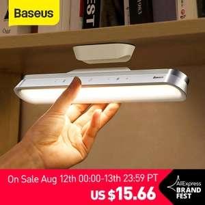 BASEUS Lámpara LED Magnética para Escritorio, Baño, Armario, etc.