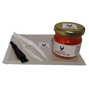 Kit para limpiar joyas de oro y plata, Hecho en ESPAÑA válido para objetos dorados y plateados.