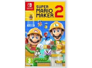 Nintendo Switch Super Mario Maker 2(Vendedor Mediamarkt)