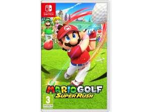 Nintendo Switch Mario Golf: Super Rush(Vendedor Mediamarkt)