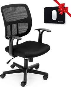Silla de Escritorio ergonómica negra, azul o roja + regalo de alfombrilla de ratón
