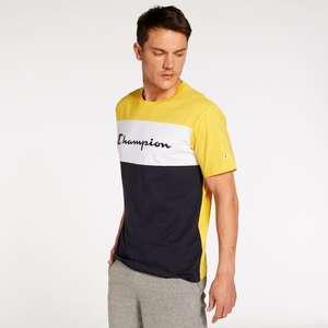 Camiseta Champion adulto Colour Block tallas L, XL y 2XL