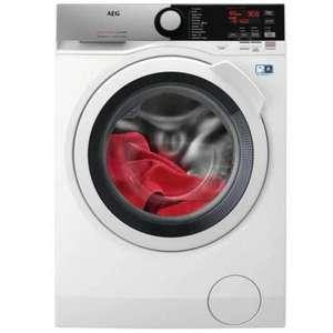 Lavadora secadora - AEG L7WEE861, 8 kg lavado, 6 kg secado, 1600 rpm, DualSense, Blanco