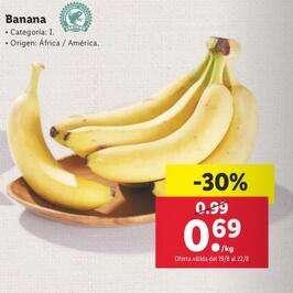 1kg Bananas de áfrica o américa