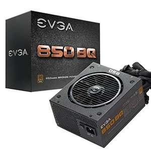 Fuente de alimentación semimodular EVGA 850 BQ, 80+ BRONZE 850W