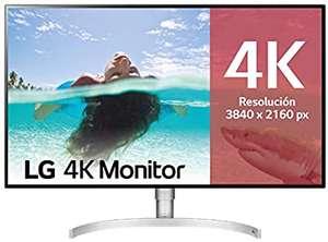 "LG 32UL950-W - Monitor 4K UHD de 80 cm (31,5"") con Panel IPS (3840 x 2160 píxeles, 16:9, 450 cd/m², DCI-P3 >98%, 1300:1, 5 ms, 60 Hz)"