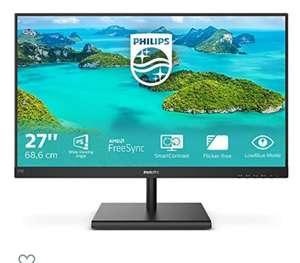 Philips 272E1SA - Monitor de 27 Pulgadas (VGA, HDMI, DisplayPort, Tiempo de Respuesta de 4 ms, 1920 x 1080, 75 Hz, FreeSync)