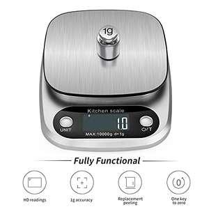 Báscula digital 10 kg inox