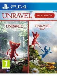 Unravel Yarny Bundle 1 + 2 (PS4)