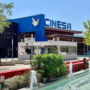 2 entradas de cine GRATIS por gastar 20€ en un restaurante de Parquesur (Leganés)