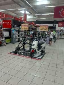 Moto eléctrica small Ride( cupón próxima compra) matriculacion incluida