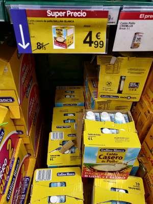 Pack 6 Bricks de Caldo de Pollo Gallina Blanca en Carrefour Sagunto