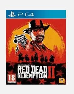 PS4 Red Dead Redemption 2 (Vendedor Mediamarkt)