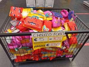 Chaleco Foam de Bebe-Niño sección Outlet de Carrefour de Móstoles
