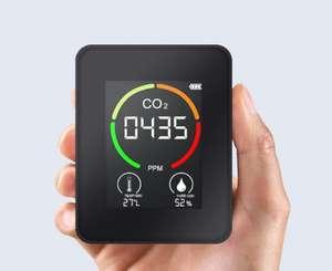 Detector CO2 portátil para interiores