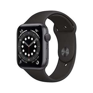 Apple Watch Series 6 (GPS, 44 mm) Caja de Aluminio en Gris Espacial - Correa Deportiva Negra