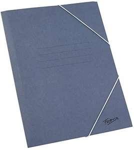 25 Carpetas Clasicas Tamaño Folio con Solapa Color Azul